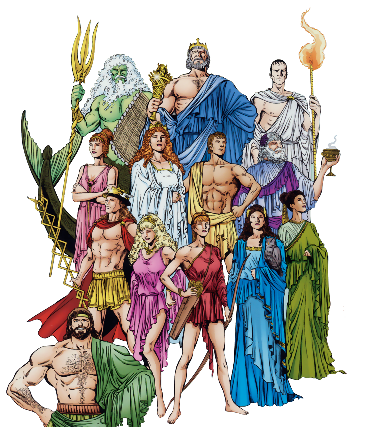 an introduction to the mythology of the god perpiplaneta The king of the gods, the ruler of mount olympus and the god of the sky, weather, thunder, lightning, law, order, and fate he is the youngest son of cronus and rhea.