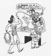 Wonder Woman newspaper strip The American Scholar 1943