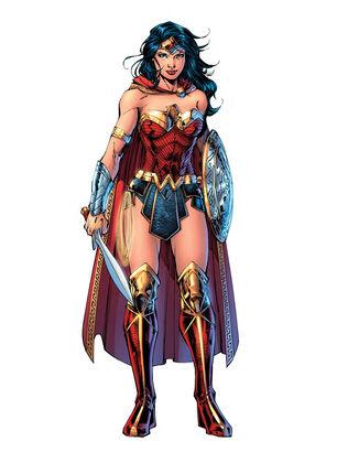 Rebirth Wonder Woman design