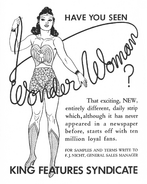 Wonder Woman newspaper strip ad 02