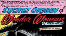 Wonder Woman v1 105 Secret Origins splashpage