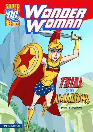 Book - Trial of the Amazons