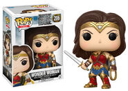 Funko Pop JL package - sword and lasso