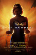 Professor Marston and the Wonder Women poster gold