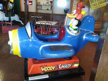Woody & Chilly plane
