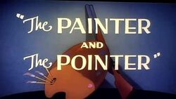 Painter and Pointer Title Card