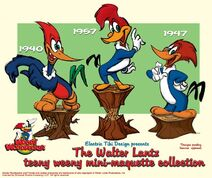 Woody Woodpecker Belong the Years