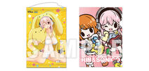 Super Sonico and Wooser Posters
