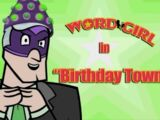 Birthday Town
