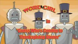 Guess Who's Coming to Thanksgiving Dinner titlecard