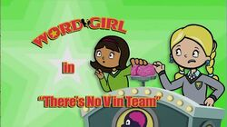 There's No V in Team titlecard
