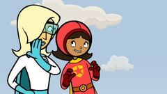 Miss Power tells WordGirl where the Miraflores Locks are located.