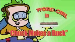 Chuck Makes a Buck titlecard
