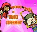 Violet Superhero