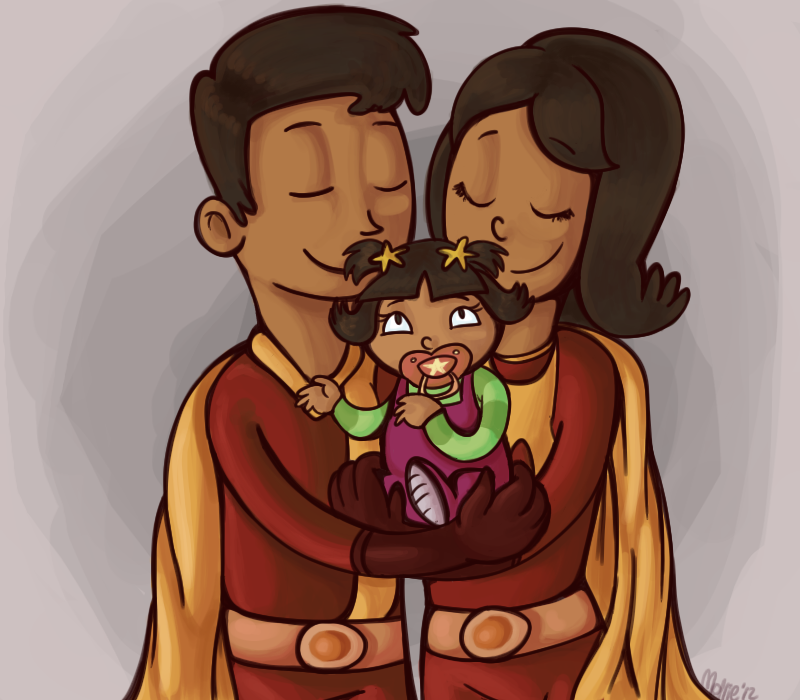 Wordgirl And Her Real Parents By Level7mew-d5a8cp0