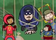 Violet superhero 1