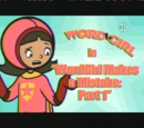 WordGirl Makes a Mistake