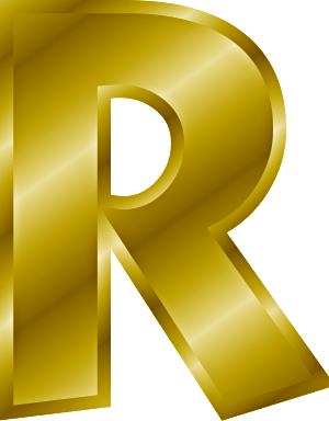 File:Gold letter R.png