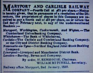 Maryport & Carlisle Railway