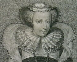 Mary I of Scotland from own print