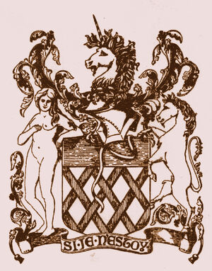 Curwen coat of arms