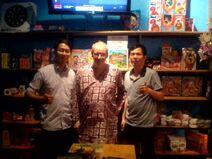 Tony Tran , Lei Saarlainen, Quang Vu Le