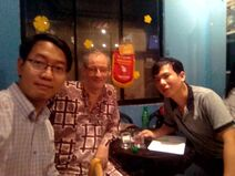 Tony Tran , Lei Saarlainen & Quang Vu Le