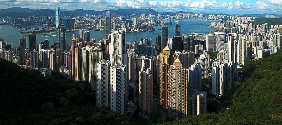 Hongkong panorama victoria peak 2011