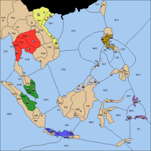 Spice Islands Diplomacy map