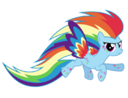 Rainbow power rainbow dash by ashidaru-d7i34z0
