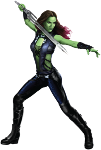 Gamora Promo Art Decor I-0