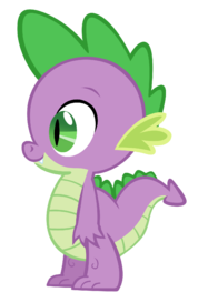 Spike the dragon vector by durpy-d51a3tn-0
