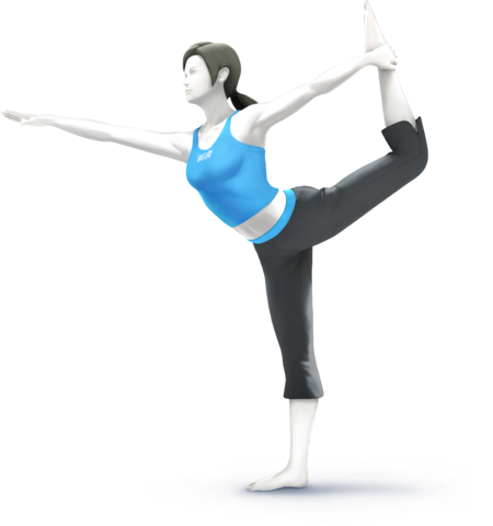 File:SSB4 - Wii Fit Trainer Artwork.png