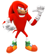 Knuckles boom new render by nibrocrock-d86mtme