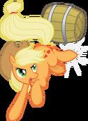 Barrel bucking applejack by tim015-d5i65te