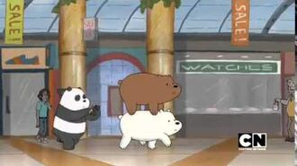 Estelle - We Bare Bears Official Opening