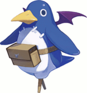 Prinny the Peg-Leg Penguin 601