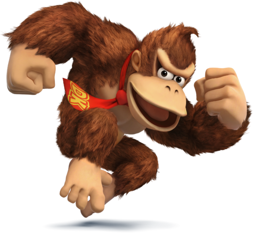 File:SSB4 - Donkey Kong Artwork.png