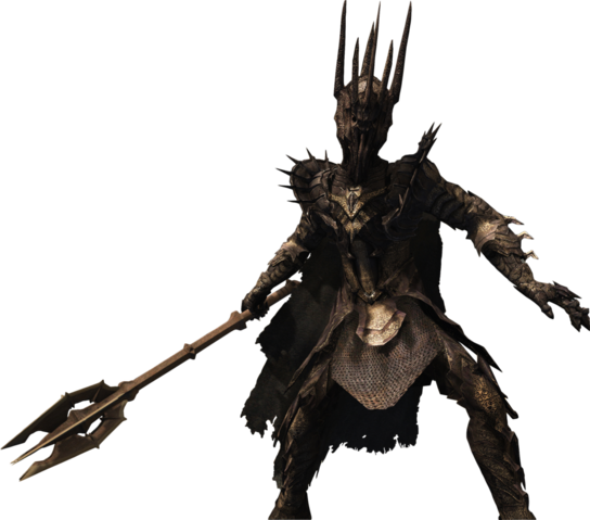 File:Sauron render lord of the rings conquest by angelus23-d5wdt9e.png