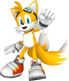 Sonic-Free-Riders-Tails-Character-Model