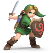 286px-SSBU Young Link Render