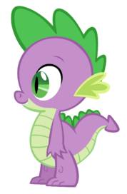 Spike the dragon vector by durpy-d51a3tn