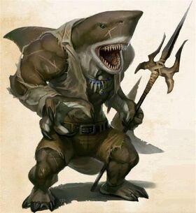 Sharkfolk Male