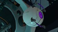 GLaDOS' Morality Core attached