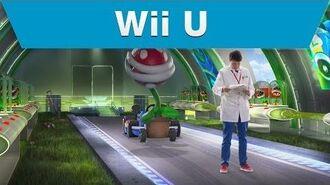 Wii U - Mario Kart 8 - Piranha Plant Test