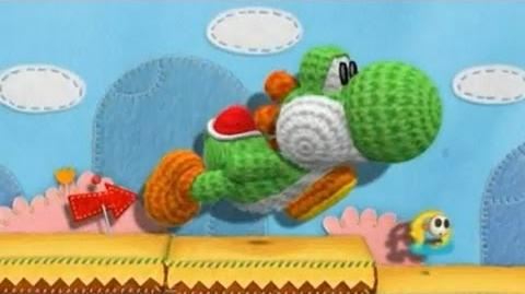 Yarn Yoshi Announced For The Wii U