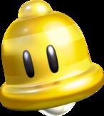 Gold Bell Artwork - Super Mario 3D World