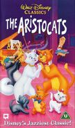 The aristocats uk vhs