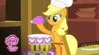 MLP Friendship is Magic - 'Baking the Cake' A Canterlot Wedding Official Clip