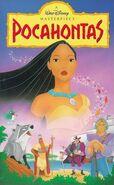 Pocahontas (1996 VHS)